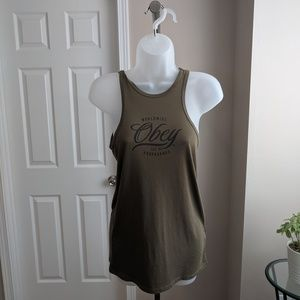 Obey Olive Muscle Tank